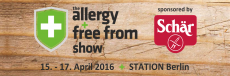 allergy&free from show
